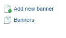 Add new banner